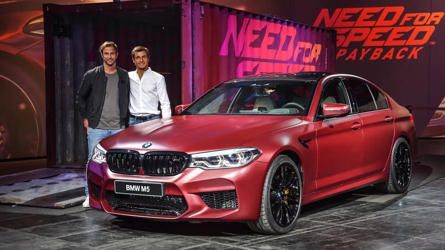 2018 BMW M5'in resmi videoları geldi