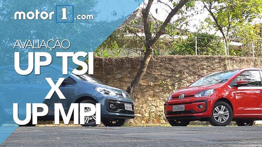 Comparativo VW Up! MPI aspirado encara Up! TSI turbo