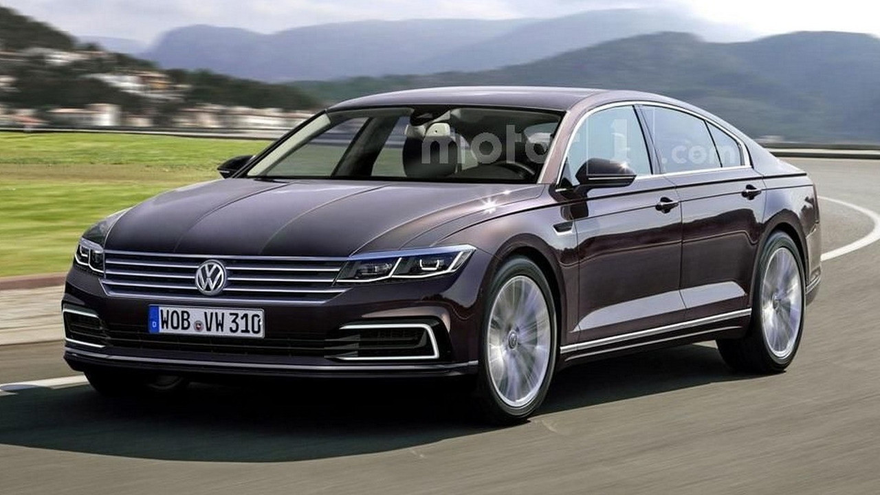 VW Phaeton render