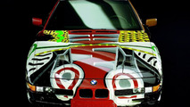 David Hockney (GB) 1995 BMW 850CSi art car - 1600