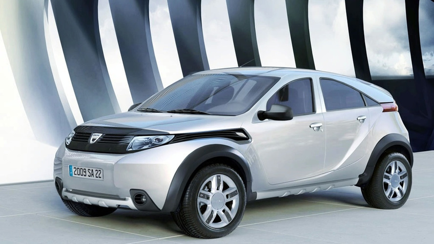 Alleged Dacia Duster SUV Production Version Leaked?