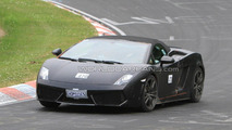 Lamborghini Gallardo Spyder Balboni or Superleggera prototype spied for first time on Nurburgring Nordschleife, Germany 29.06.2010