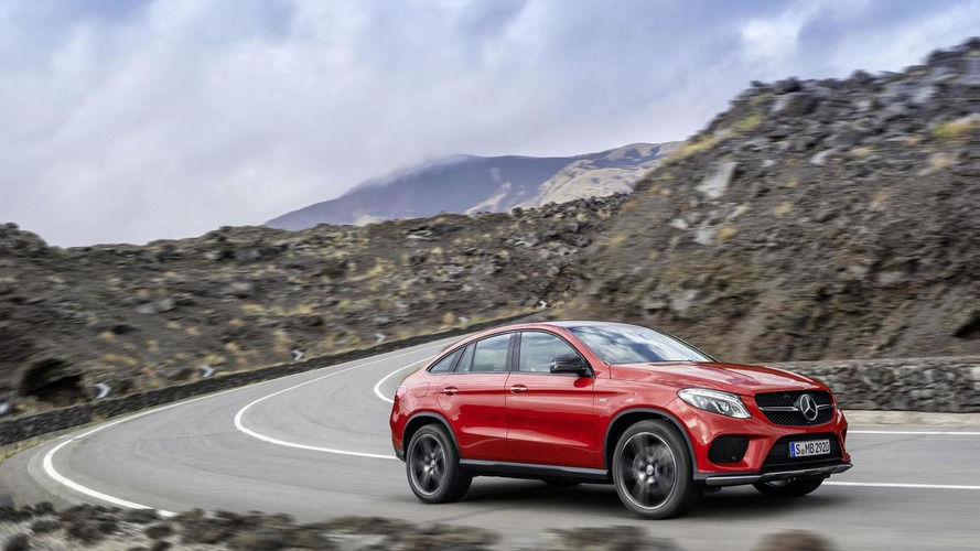 Mercedes GLE Coupe officially unveiled