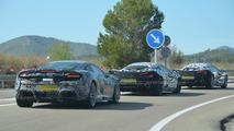 McLaren 570S / Sport Series spy photo