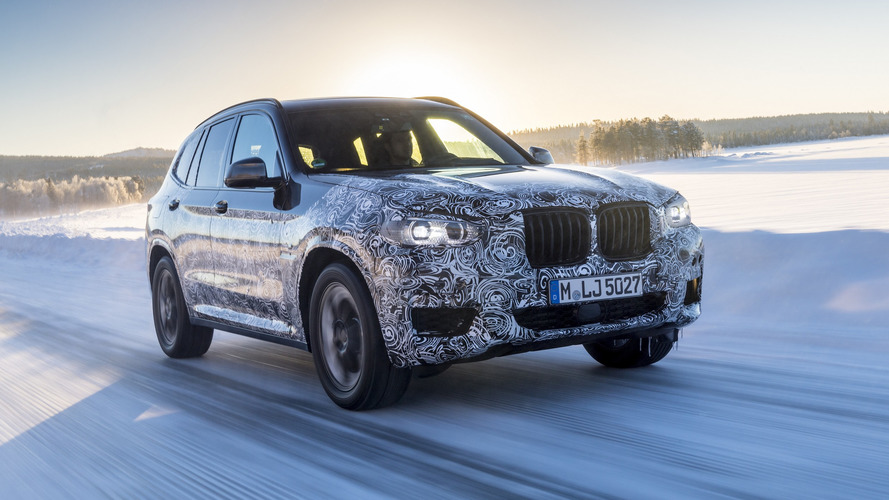 BMW X3 2018, fotos espia