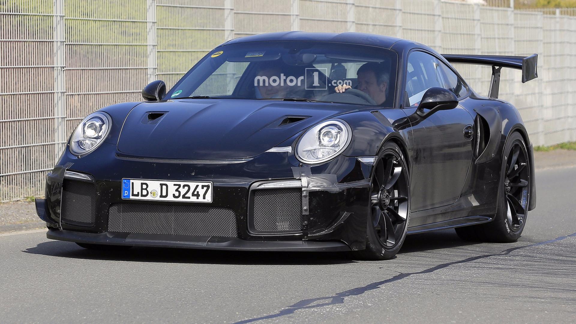 2018-porsche-911-gt2-spy-photo Amazing Porsche 911 Gt2 Rs Engine Cars Trend