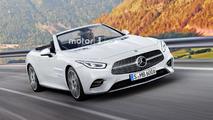 Mercedes SL 2019 render