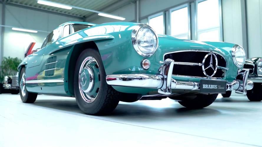 BRABUS restaura este impresionante Mercedes 300 SL Gullwing