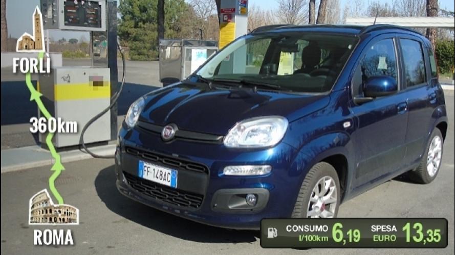 Fiat Panda GPL, la prova dei consumi reali