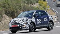 2019 Fiat 500X facelift new spy photos