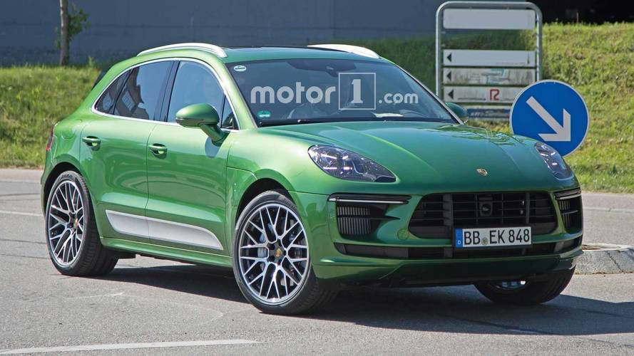 Porsche Macan Facelift 2019 Get More Power Across The Range Tech2