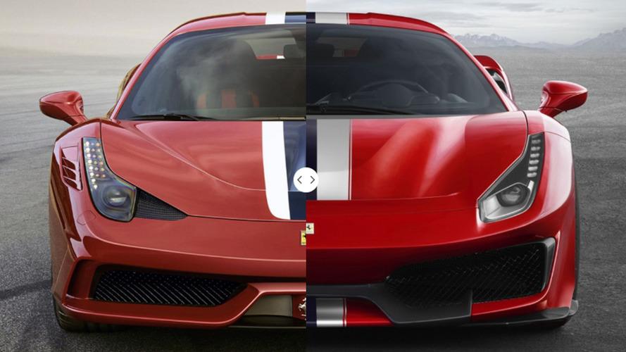 Ferrari 458 Speciale vs 488 Pista, scontro generazionale