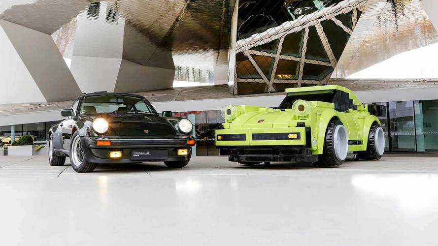 Porsche Uses Massive Lego Bricks To Create Life-Sized 911 Turbo