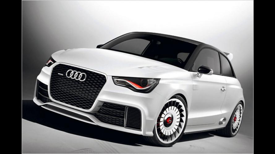 Audi A1 clubsport quattro: Kraftzwerg mit 503 PS