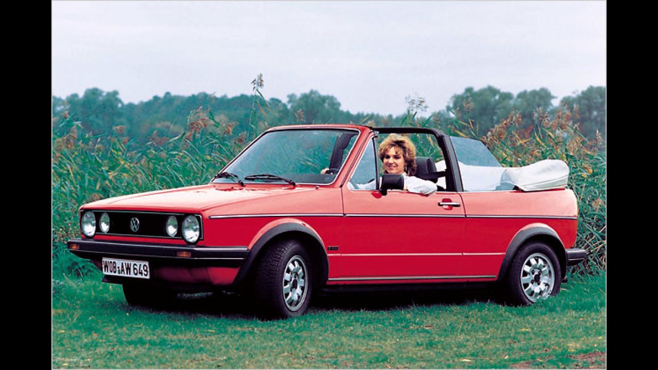 60 Jahre VW-Cabrios