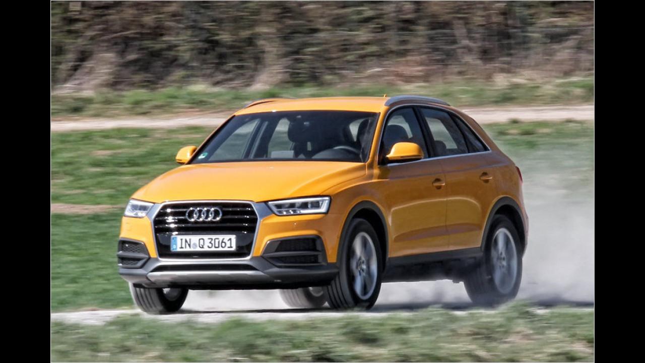 Audi Q3: 24.110 Neuzulassungen