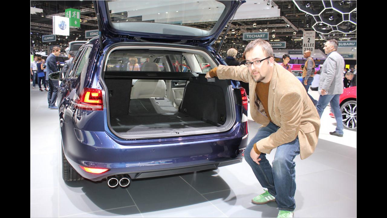 VW Golf Variant im Erstcheck