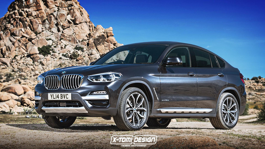 2019 BMW X4 Render Takes After The New X3