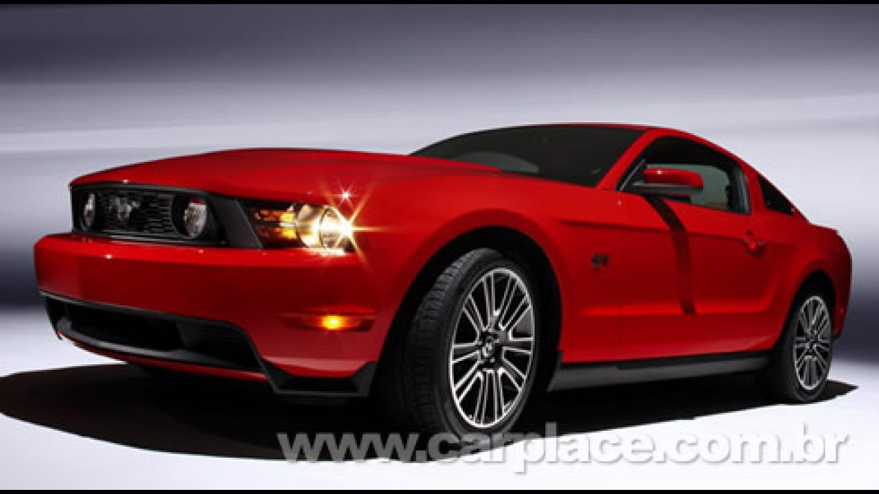 Ford apresenta o novo Mustang GT 2010 - Potência do V8 sobe para 319 cavalos