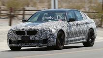 2018 BMW M5 casus fotoları, Mojave Çölü