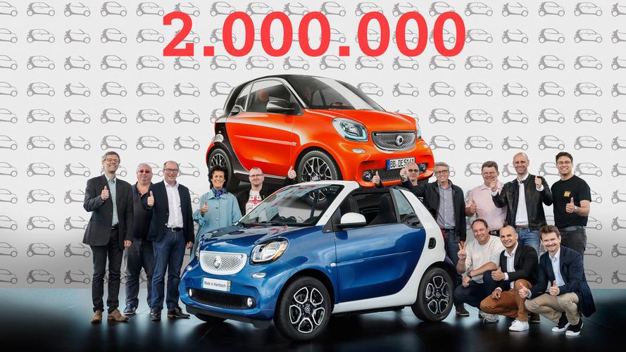Smart, 2 milyon adet satış rakamına ulaştı