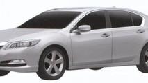 2013 Acura RLX patent photos 21.6.2012