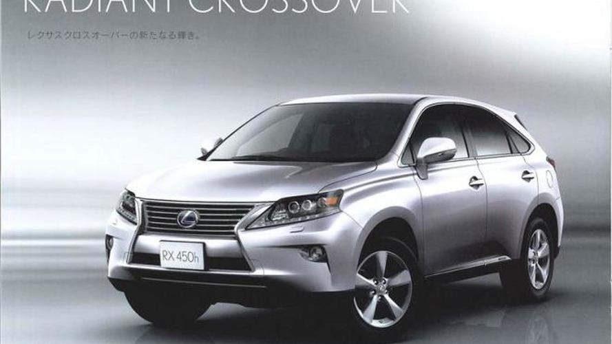 2013 Lexus RX leaked ahead of Geneva debut