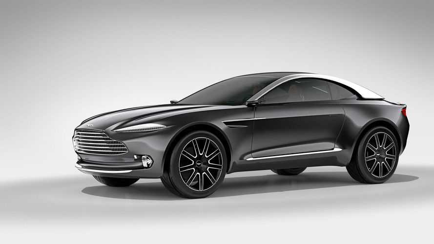 Aston Martin SUV Could Be Called 'Varekai'