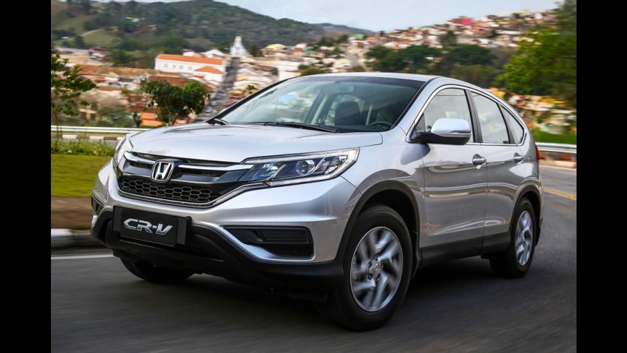 """SUVs/Crossovers: HR-V lidera entre pequenos e SW4 """"passeia"""" em fevereiro"""