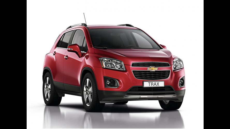 Chevrolet Trax / Enjoy tem mais fotos e dados divulgados - Estreia no Salão do Automóvel