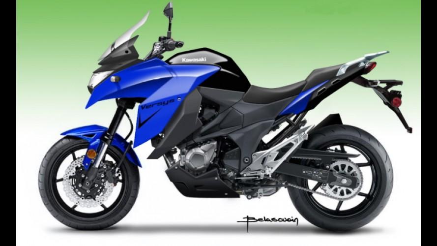 Segredo: nova Kawasaki Versys chega ao Brasil em 2015