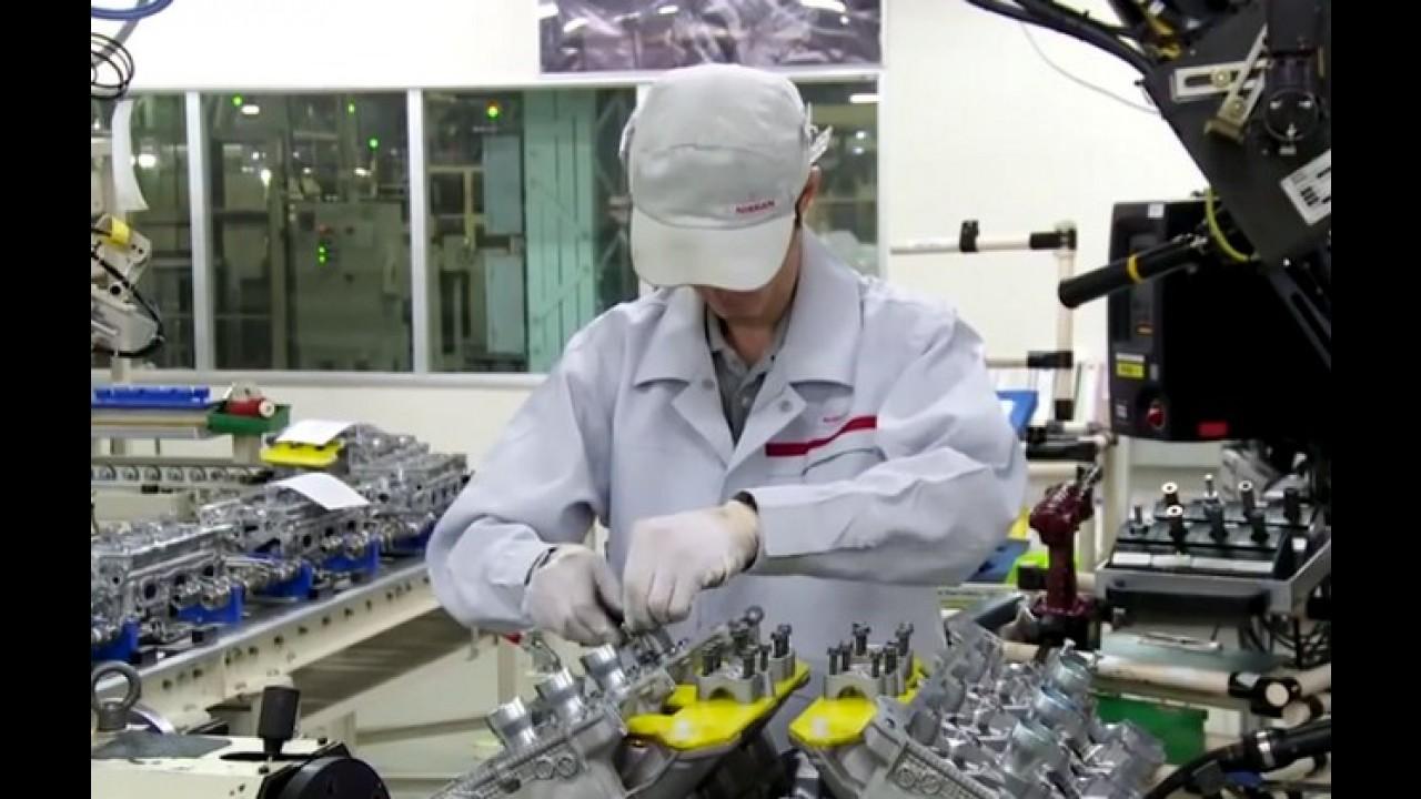 Vídeo: Nissan mostra como o motor do GT-R é fabricado