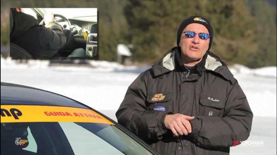 Guida sicura sulla neve, cosa fare in caso di sottosterzo