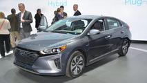 2017 Hyundai Ioniq live at New York Auto Show 2016