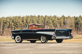 Simply Cool: the '57 Chevy Bel Air Convertible