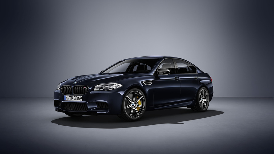 BMW M5 Competition Edition hits 100 km/h in just 3.9 seconds