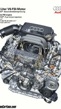 Audi 3.2 V6 FSI engine