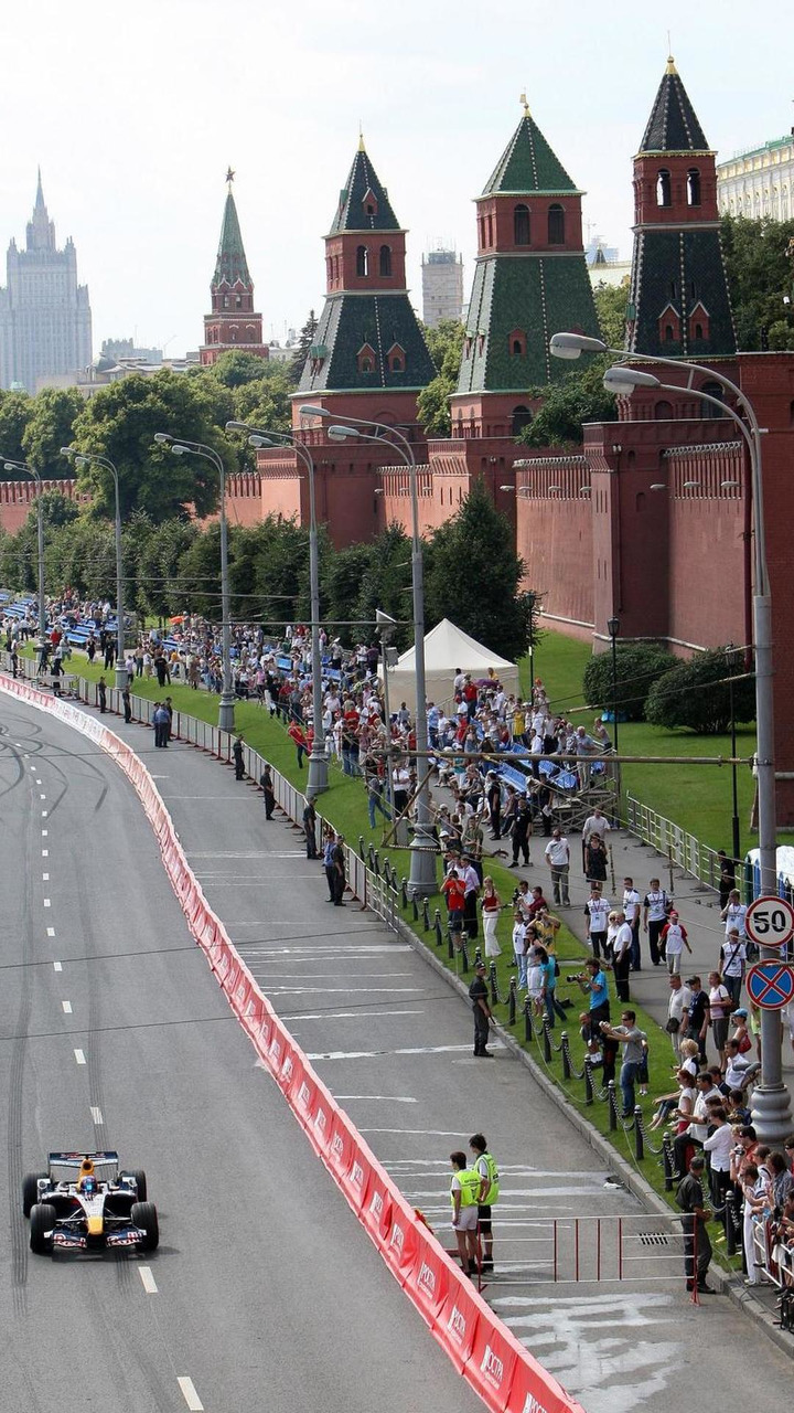 12.07.2008, Moscow, Russia, Mikhail Aleshin (RUS) - Red Bull F1 Showcar Run / xpb.cc