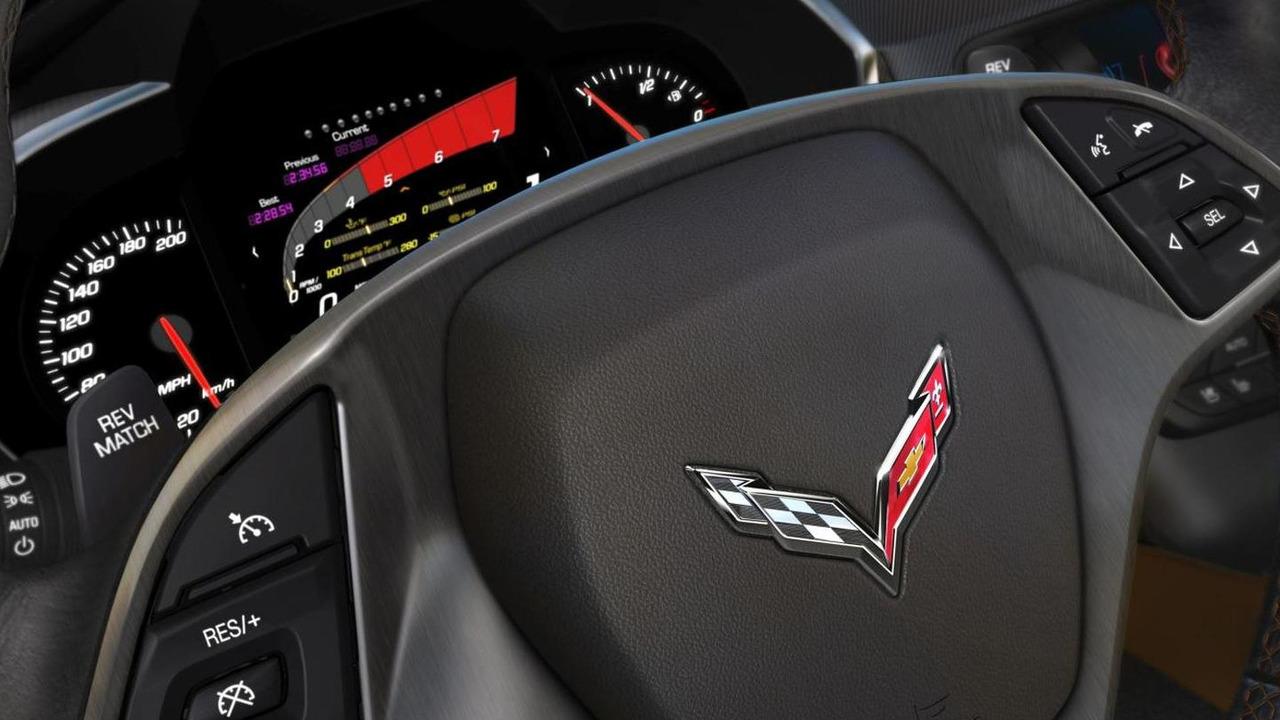 2014 Chevrolet Corvette digital instrument cluster 12.8.2013