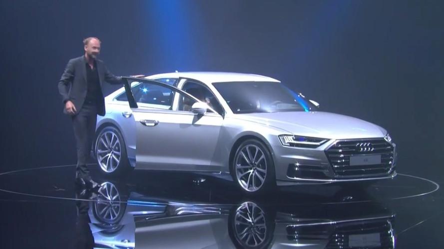 2018 Audi A8 Lansmanı - Canlı