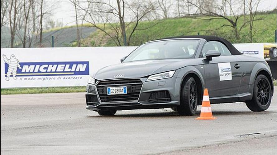 Michelin Pilot Sport 4, la prova in pista
