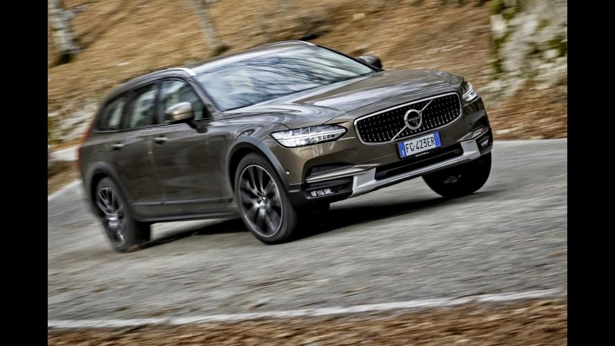 Volvo Cross Country: la prova di V90, V60 e V40 [VIDEO]