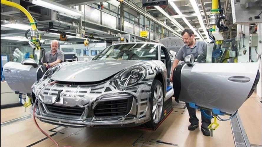 Porsche premia i dipendenti con 9.111 euro di bonus