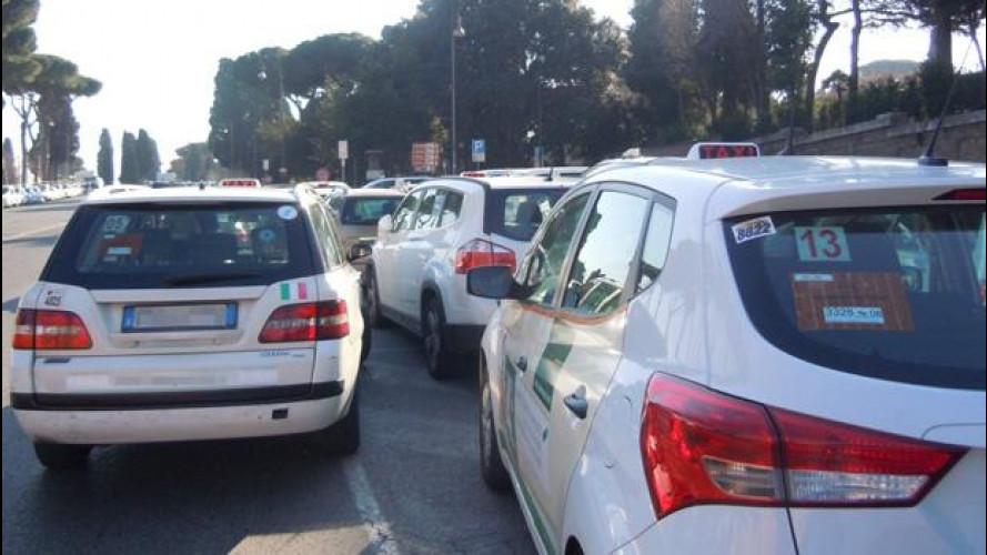 Sciopero anti Uber, dopo Parigi i taxi si fermano a Firenze