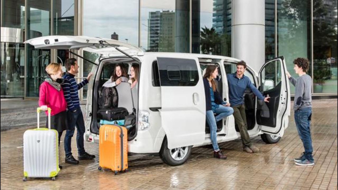 Nissan e-NV200 Evalia – from £21,456