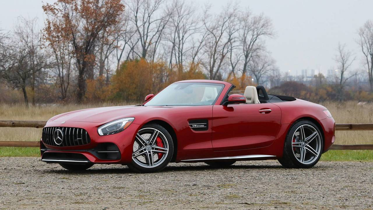 2018 mercedes amg gt c roadster review yet another pleasing gt. Black Bedroom Furniture Sets. Home Design Ideas