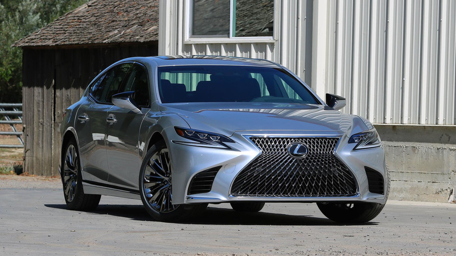 2018 lexus ls 500 first drive continuing to evolve luxury. Black Bedroom Furniture Sets. Home Design Ideas