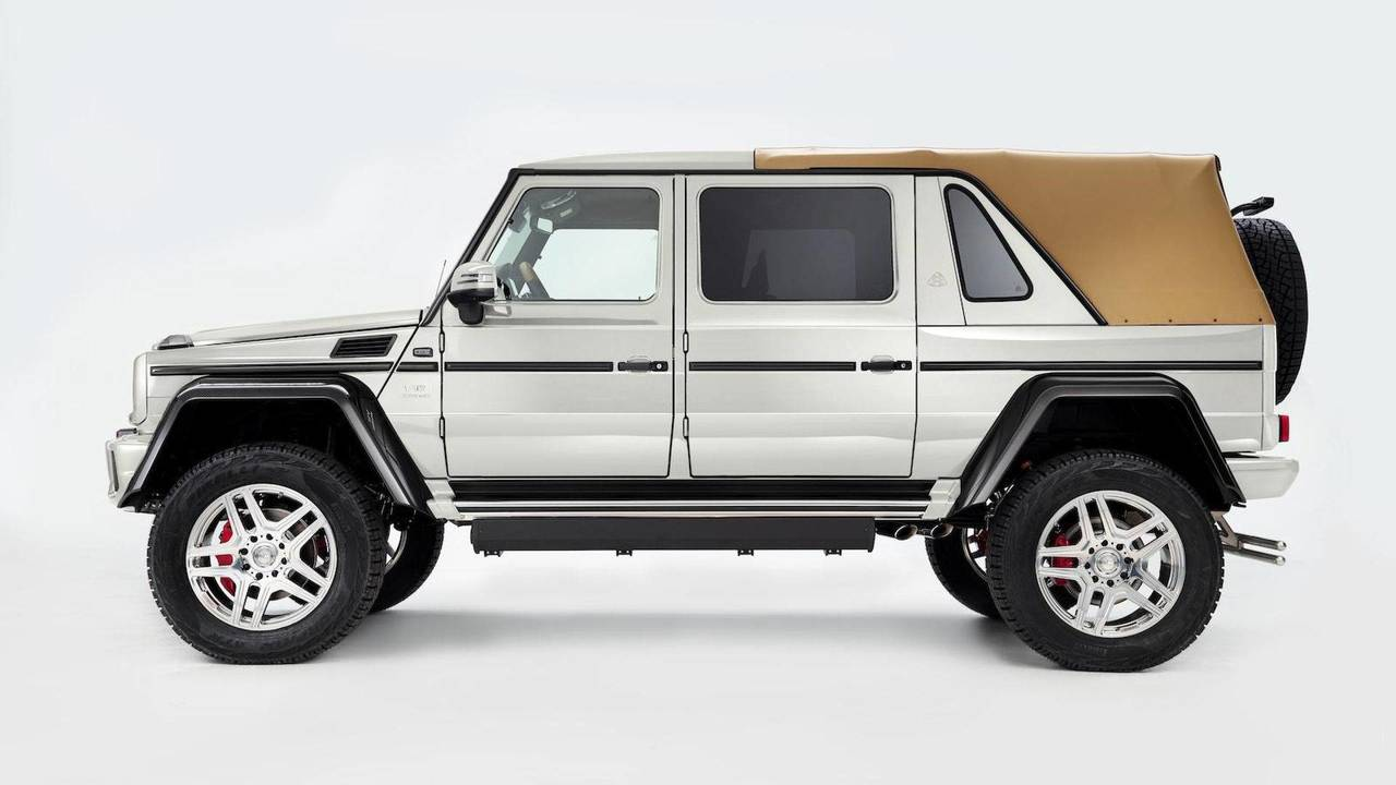 en 6 mois le mercedes maybach g650 landaulet a doubl son. Black Bedroom Furniture Sets. Home Design Ideas