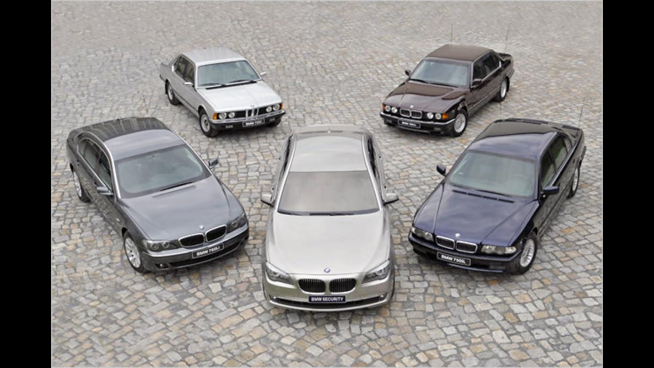 BMW 7er Security