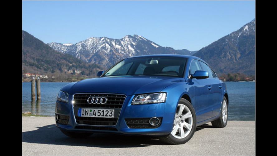 Große Klappe: Audi A5 Sportback 2.0 TFSI im Test